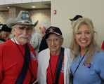 Inside Outside helped sponsor Ralph and Liz on their Alamo Honor Flight to Washington!